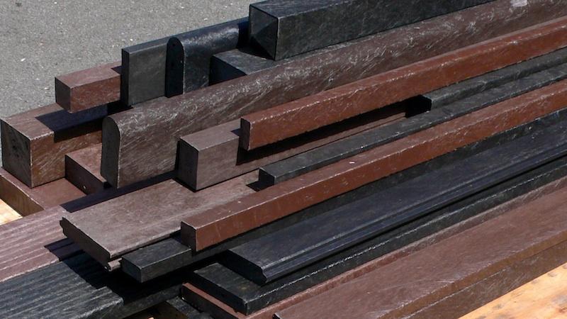 Mixed plastic lumber mixed plastic wood mixed plastic for Plastic building materials